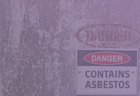 Asbestos danger symbol