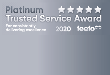 Image of 2020 feefo platinum trusted service award