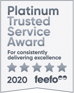 Image of 2020 Platinum Trusted Service Award