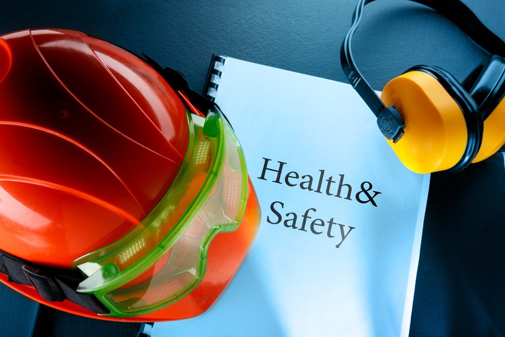 health and safety hard hat an ear protector - chas blog